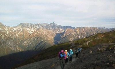 登山プログラムのイメージ